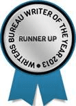 Writers Bureau badge 2013